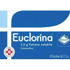Euclorina Polvere Soluzione 10 Bustine 2,5g