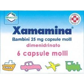 Xamamina Bambini 6 Capsule 25mg