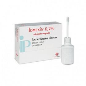 Lomexin Soluzione Vaginale 5 Flaconcino 150ml0,2%