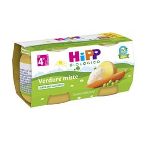 Hipp Biologico Omogeneizzato Verdure Miste 80 g 2 Pezzi
