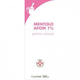 Mentolo Farm 1% 100g Polvere Cutaneo