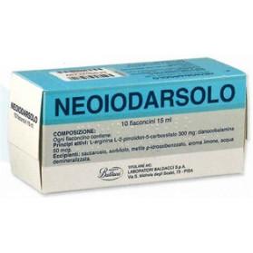 Neoiodarsolo Uso Orale 10 Flaconcino 15ml