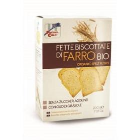 Fsc Fette Biscottate Di Farro Bio Senza Zuccheri Aggiunti Con Olio Di Girasole Senza Olio Di Palma 200 G