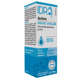 Gocce Oculari Sterilens Idra Active 10 ml Con Acido Ialuronico 0,15%