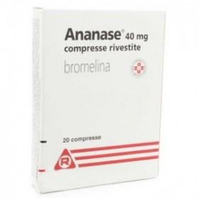 Ananase 20 Compresse Rivestite 40mg