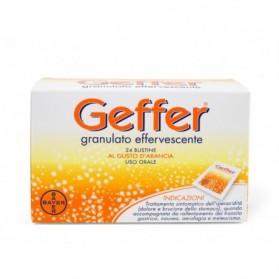 Geffer Uso Orale Granulato Effervescente 24 Bustine 5g