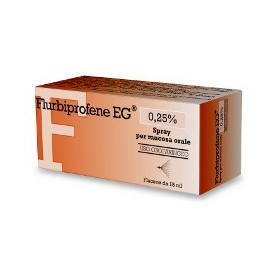 Flurbiprofene Eg Uso Orale Spray 15ml