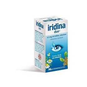 Iridina Due Collirio 10ml 0,5mg/ml