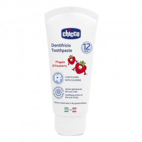 Chicco Dentifricio Fragola 50 ml 12m+ Con Fluoro