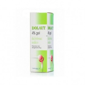 Dolaut Gel Spray Flaconcino 25g 4%