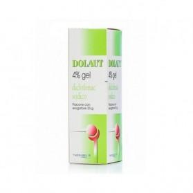 Dolaut Gel Spray Flaconcino 25g 4%