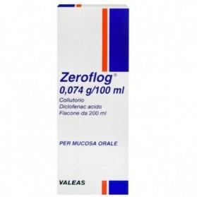 Zeroflog Colluttorio 1 Flaconcino 200ml