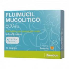 Fluimucil Mucolitico Uso Orale 10 Bustine 600mg