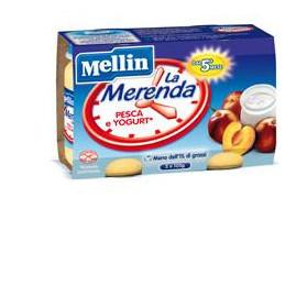 Mellin Merenda Yogurt Pesca 2 X 120 g