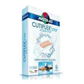 Cerotto Master-aid Cutiflex Strip Trasparente Impermeabile Supporto In Poliuretano Grande 10 Pezzi