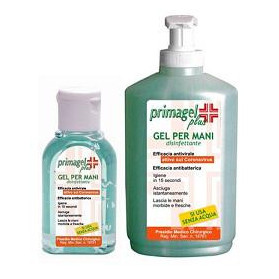 Gel Disinfettante Pronta All'uso Per La Disinfezione Delle Mani E Della Cute Primagel Plus 50ml