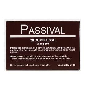 Passival Estratto Erboristico 20 Compresse 10g
