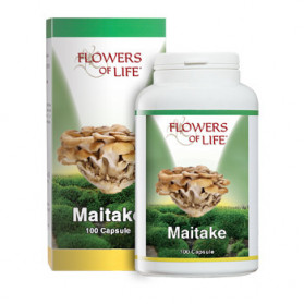 Maitake 100 Capsule Flowers Of Life