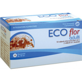 Ecoflor Adulti Boulardii 10 Flaconcini 10 ml