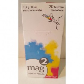Mag 2 Uso Orale Soluzione 20 Bustine 1,5g/10ml