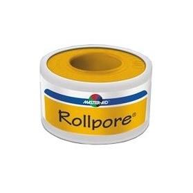 Cerotto In Rocchetto Master-aid Rollpore Tessuto Non Tessuto 5x5