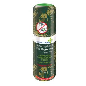 Colpharma Spray Repellente Max Protection Deet 50 75 ml