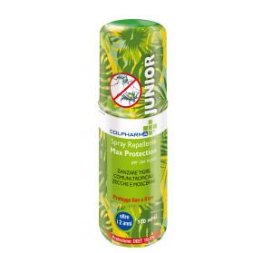 Colpharma Spray Repellente Max Protectio Junior Deet 19,50 100 ml