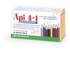 Api 4+1 Liquido 10 Flaconcini 10 ml