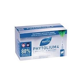 Phyto Phytolium4 Trattamento Anticaduta Capelli Uomo 12 Fiale 3,5 ml